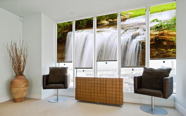 Estores para decorar tu oficina blog - Decoracion cortinas y estores ...