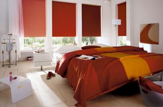 C mo combinar estores y cortinas en tu dormitorio blog - Combinar cortinas y estores ...