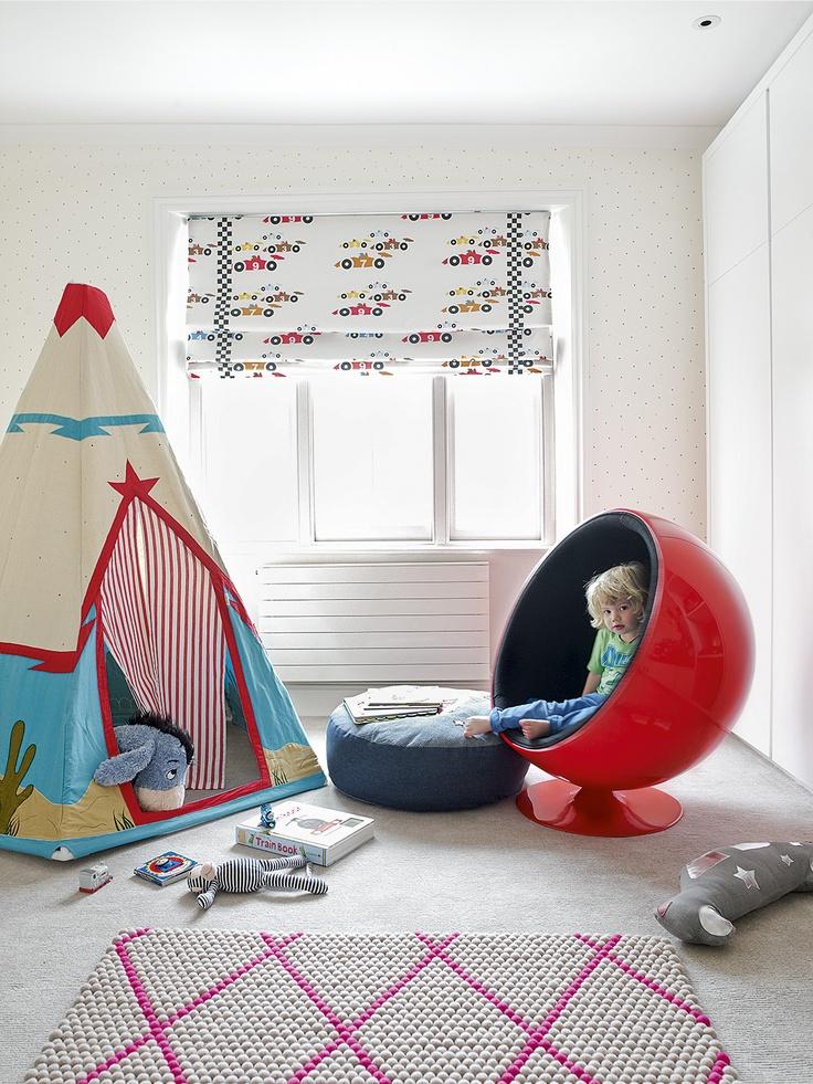 Decora habitaciones infantiles con estores blog - Cortinas para habitacion infantil ...
