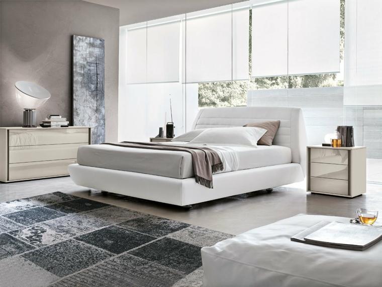 C mo crear un dormitorio perfecto con estores blog - Estores para habitacion ...