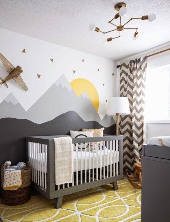 Ideas sencillas para decorar la habitaci n de tu beb blog - Estores para habitacion bebe ...